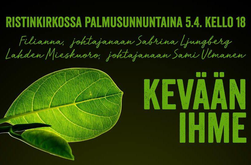Kevään Ihme Lahden Mieskuoro Filianna 2